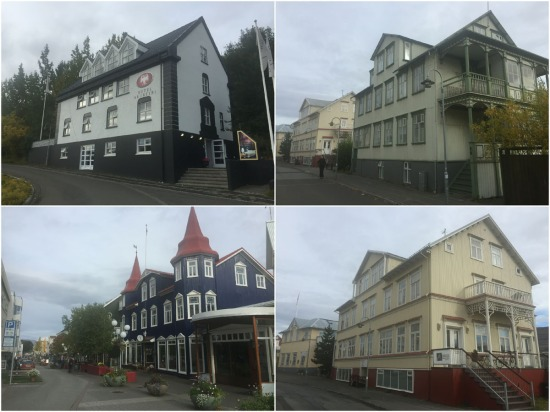 Iceland's second city of Akureyri contains many charming buildings