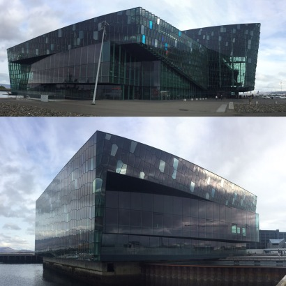 The Danish designed and futuristic Harpa Concert Hall and Conference Centre is situated on Reykjavik's revitalised harbourfront.