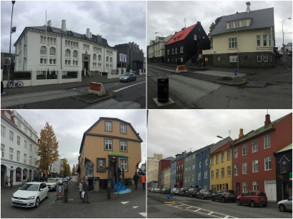 Traditional Icelandic architecture in Reykjavik