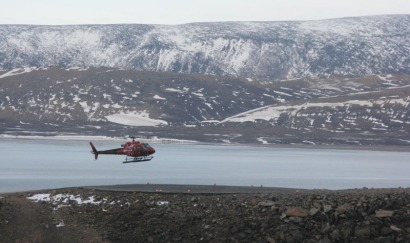 Helicopters are a modern alternative to Dog sleds
