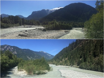 Views along the Squamish River.